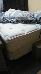Full matress and box spring and frame in Wilmington, North Carolina