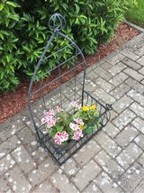 Iron planter in Ramstein, Germany