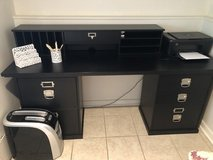 Pottery Barn desk and organizer system in Westmont, Illinois