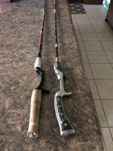 Vintage Fishing Rods in Plainfield, Illinois
