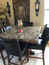 Bar height table with 4 chairs in Camp Pendleton, California
