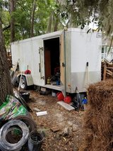 6x12 V-nose Single Axil Trailer in Beaufort, South Carolina