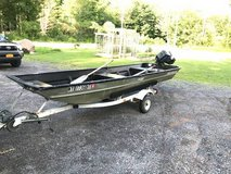 Jon Boat - 14' w/ Trailer and 15HP Force Motor in Watertown, New York
