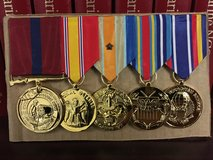 Medals ready for you in Camp Pendleton, California
