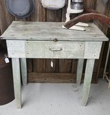 Country Table-white washed in Camp Lejeune, North Carolina