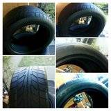 (1)	Nitto Tire NT555 P255/45ZR17 92W  (left) in Lawton, Oklahoma