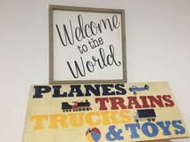 Nursery Wall Decor in Camp Pendleton, California