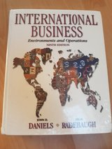 International business Daniels Radebaugh 9 Edition. New in Ramstein, Germany