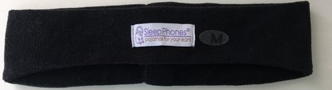 AcousticSheep SleepPhones Classic Sleep Headphones (Black, Medium - One Size Fits Most) in Okinawa, Japan