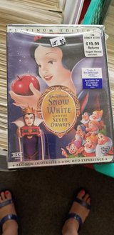 Walt Disney Snow White and the Seven Dwarfs Platinum Edition new sealed DVD in Alamogordo, New Mexico