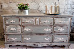 Shabby chic dresser sideboard in Camp Lejeune, North Carolina