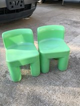 Little Tykes chairs in Fort Campbell, Kentucky