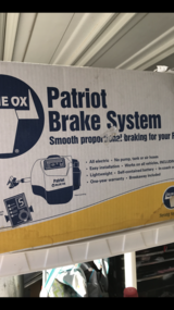 Blue ox brake system in Fort Bliss, Texas