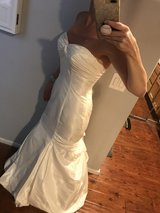 Gorgeous Strapless Prevue Moonlight Wedding Gown, Ivory in Riverside, California