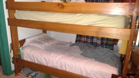 Solid Wood Bunk Beds in Leesville, Louisiana