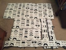 Mustache crib bumpers/protectors in Warner Robins, Georgia