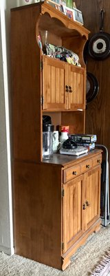 Hutch – China cabinet – storage cabinet in Camp Pendleton, California