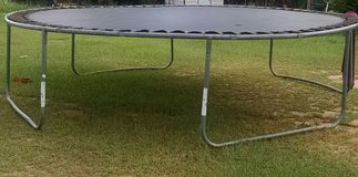 Large trampoline in Perry, Georgia