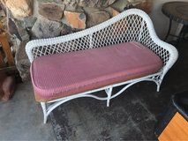 Wicker Love Seat in Yucca Valley, California