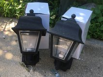 Pair of Outdoor Coach Lights in Lockport, Illinois
