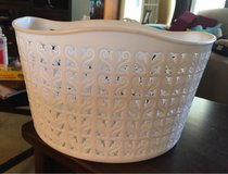 White Bike Basket in Oswego, Illinois
