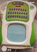 Leapfrog Letters and Numbers Tablet in Yucca Valley, California