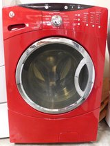 FRONT LOAD GE WASHER- RED in Camp Pendleton, California