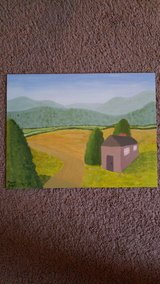 original landscape painting in Camp Lejeune, North Carolina
