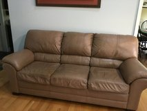 100% leather Couch in Westmont, Illinois