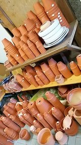 Terracotta clay pots in many different sizes- NEW! in Spangdahlem, Germany