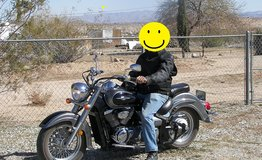 Suzuki Boulevard C50 Cruiser Motorcycle 2005 in Yucca Valley, California