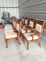 4 captain+4 mate chairs in Conroe, Texas