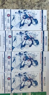 CUBS tickets (quantity 4 ) and 2 parking passes in Yorkville, Illinois