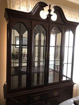 China Cabinet - Queen Anne Cherry Beautiful in Fort Sam Houston, Texas