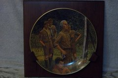 Norman Rockwell Scouting plate in Shorewood, Illinois