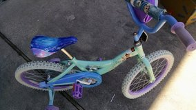 "Disney""Frozen""  18 in girls bike in Cherry Point, North Carolina"