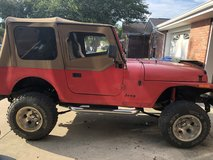 1989 Turbo Diesel Jeep Wrangler YJ in Tyndall AFB, Florida
