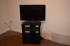 TV with stand and DVD player in Fort Leonard Wood, Missouri