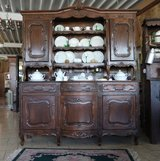 beautiful rustic French Louis XV style dining room hutch in Stuttgart, GE