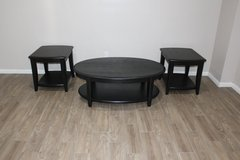 Black Coffee Table with 2 Side Tables EXCELLENT CONDITION in Tomball, Texas