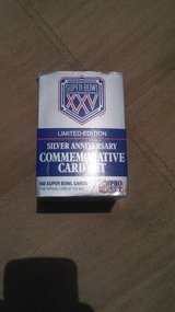 Super bowl xxv cards in Fort Campbell, Kentucky