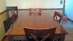 Pub Height Dining Table with 6 Chairs in Palatine, Illinois