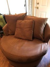 Large Brown Sofa Chair in MacDill AFB, FL
