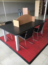 double computer table, craft table etc very heavy duty in Fort Leonard Wood, Missouri