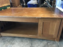 Solid wood coffee table in Houston, Texas