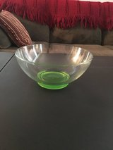 Green and Clear Glass Bowl in Camp Lejeune, North Carolina