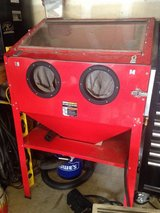 Sand blast cabinet in Oceanside, California