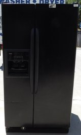 25 CU. FT. KENMORE SIDE BY SIDE REFRIGERATOR in Camp Pendleton, California