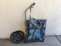 in step bike trailer in Vacaville, California