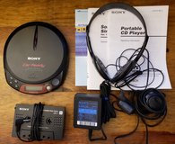 REDUCED Sony Walkman CD player in 29 Palms, California